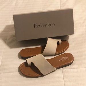 NWT - FRANCO SARTO Grayson Leather Sandal